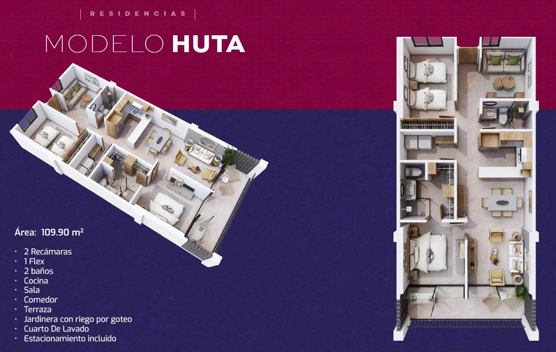 "Departamento ""Modelo Huta"" Nuevo Vallarta, Nay."